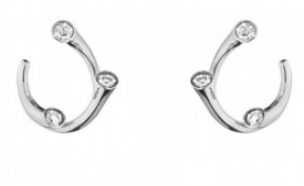 MAGIC Curved Earrings by Regitze available at Jeremy Bloomfield in Ilkley