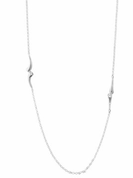 MAGIC White Gold and Diamond Necklace