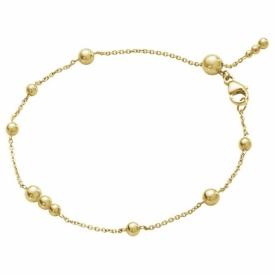 MOONLIGHT GRAPES 18ct Gold Bead Bracelet