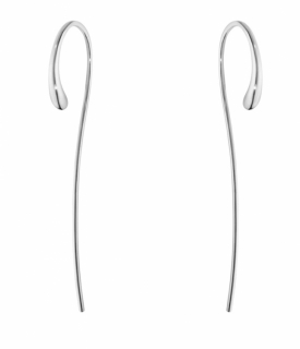 MERCY Long Curved Earrings