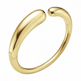 MERCY Yellow Gold Open Bangle