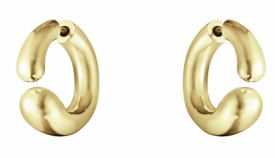 MERCY 18ct Yellow Gold Gold Earhoops