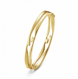 FUSION OPEN BANGLE in Yellow Gold