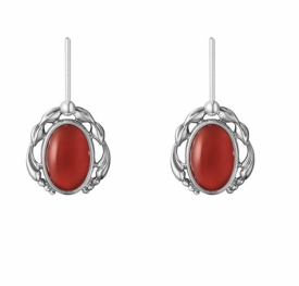 2020 HERITAGE Earrings with Carnelian