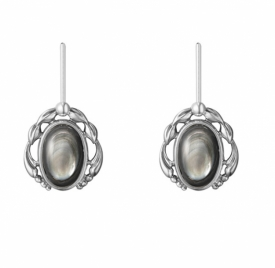 2020 HERITAGE Black Mother of Pearl Earrings