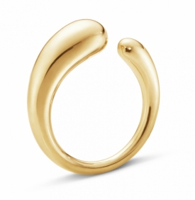 MERCY Yellow Gold Small Mercy Ring by Jacqueline Rabun