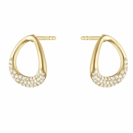 OFFSPRING Earrings in 18ct Gold with Diamonds