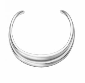 CURVE Neckring in Silver