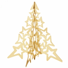 2021 Table Tree 18ct Gold-Plated Stainless Steel, Small at Jeremy Bloomfield