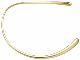 MERCY Gold Neck Ring