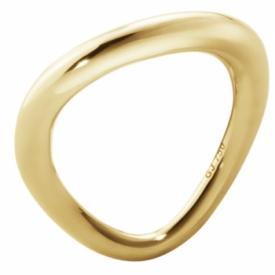 Georg Jensen OFFSPRING Yellow Gold Ring Jeremy Bloomfield