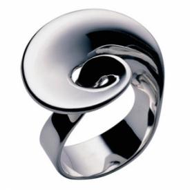 Moebius Spiral Ring