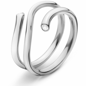 MAGIC Outer Ring In 18ct White Gold