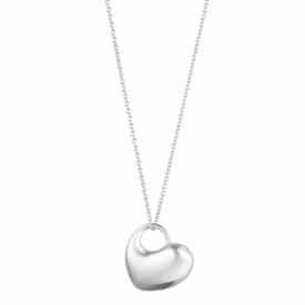 Georg Jensen Asymmetric Heart Pendant