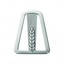Money clip 334 with wheat motif in Sterling silver