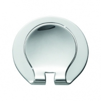 Round contemporary Money clip 369 in Sterling silver