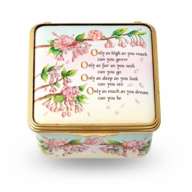 Only as High... Halcyon Days Enamel Box
