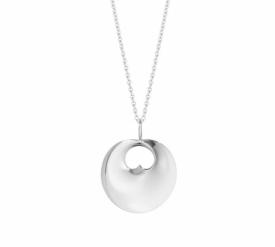 HIDDEN HEART pendant - sterling silver