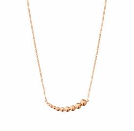 MOONLIGHT GRAPES 18ct Rose Gold Horizontal Pendant