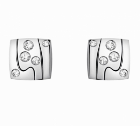 FUSION White Gold and Diamond Earrings