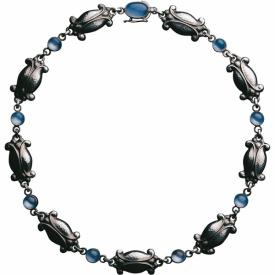 MOONLIGHT BLOSSOM Blue Moonstone Necklace