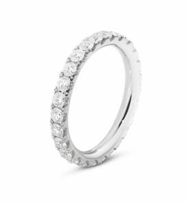 AURORA White Gold Ring III