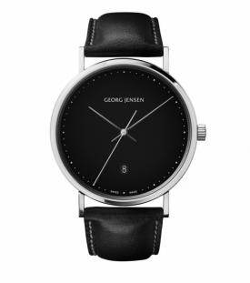 Georg Jensen KOPPEL Watch 41mm Quartz black dial