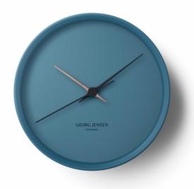 KOPPEL 22 cm wall clock, blue