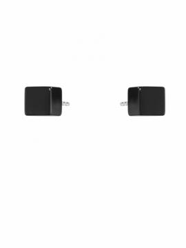 ARIA Onyx Cube Earrings - 0