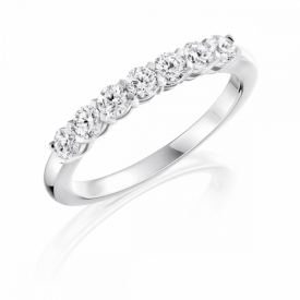 Kite Set Eternity Ring 0.49ct