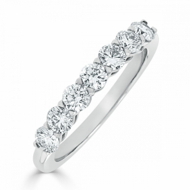 Kite Set Eternity Ring 0.70ct