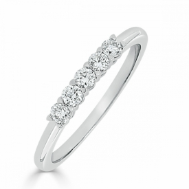 Kite Set Eternity Ring 0.25ct