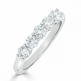 Kite Set Eternity Ring 0.50ct