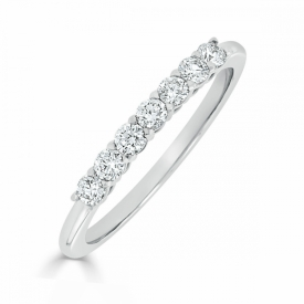 Kite Set Eternity Ring 0.24ct