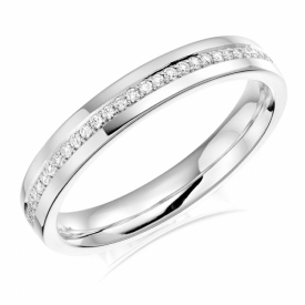 Diamond Set Wedding Ring 0.12ct 83X03