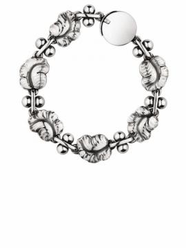 Moonlight Grapes Leaf Bracelet - 0