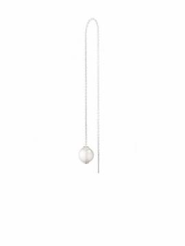MOONLIGHT GRAPES Pearl Threader Earring - 0