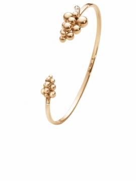 GRAPES Rose Gold Torque Bangle - 0