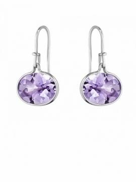 SAVANNAH Earrings with Amethyst - 0