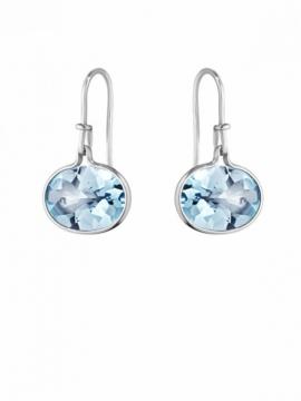 SAVANNAH Earrings with Blue Topaz - 0