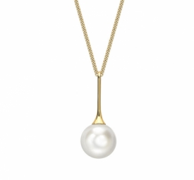 18ct  Yellow Gold  Southsea 10.5mm Pearl Pendant