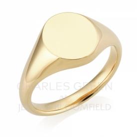 Gentleman's Signet Ring in 9ct Yellow Gold