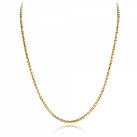 9ct Yellow Gold Box Belcher Chain