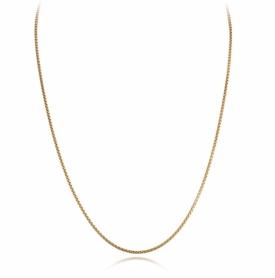 9ct Yellow Gold  Fine Box Belcher Chain