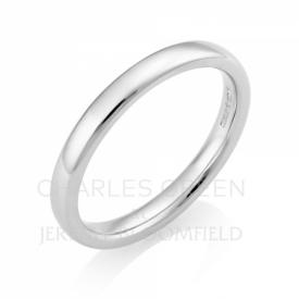 Luxury Court 2.5mm Platinum Wedding Ring