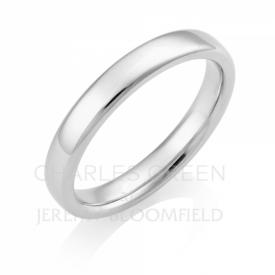 Luxury Court 3mm Platinum Wedding Ring