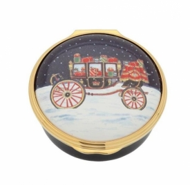 Carriage in the Snow Box