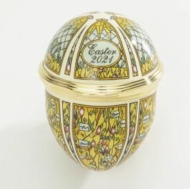 Halcyon Days 2021 Enamel Easter Egg