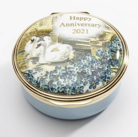 Halcyon Days 2021 Happy Anniversary Box