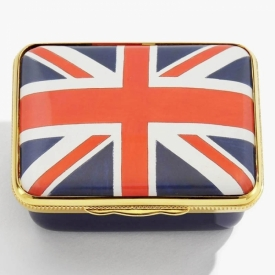 The Union Flag Box by Halcyon Days